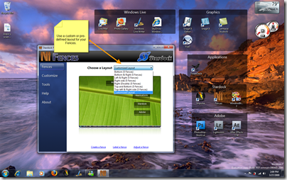 Organize Icons on the Windows 7 Desktop