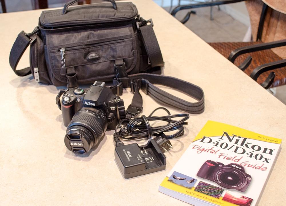 Nikon D40 Package on eBay