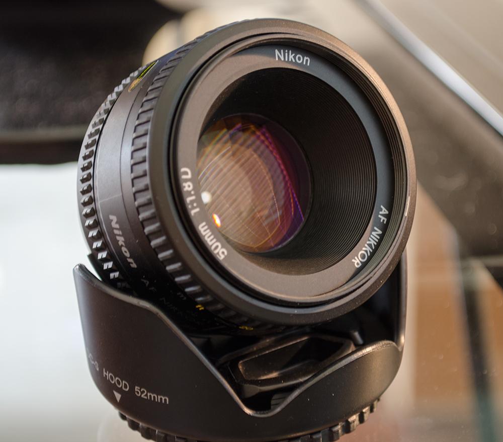 More Gear for Sale: Nikkor 50mm f/1.8D Lens